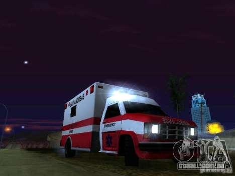Ambulance 1987 San Andreas para o motor de GTA San Andreas