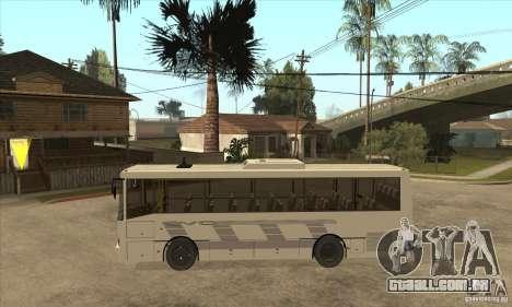 LAZ 42078 (forro-10) para GTA San Andreas esquerda vista