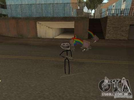 Meme Ivasion Mod para GTA San Andreas segunda tela