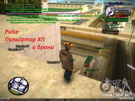 Sobeit for CM v0.6 para GTA San Andreas sexta tela