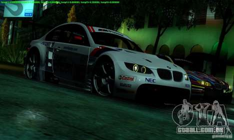 SA_gline 4.0 para GTA San Andreas quinto tela