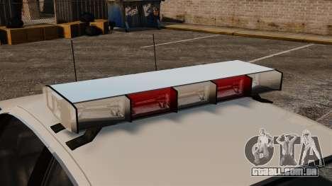 Novo laço cruzador ELS para GTA 4 vista de volta