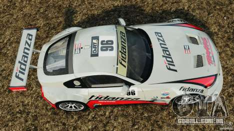BMW Z4 M Coupe Motorsport para GTA 4 vista direita