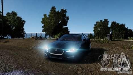 Jaguar XJ 2012 para GTA 4 interior