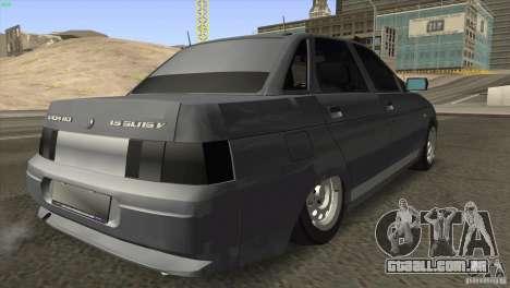 VAZ 2110 Dag para GTA San Andreas vista direita