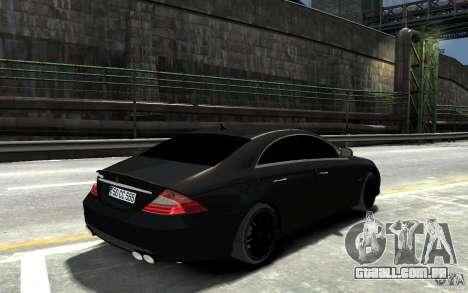 Mercedes Benz CLS Brabus Rocket 2008 para GTA 4 vista direita
