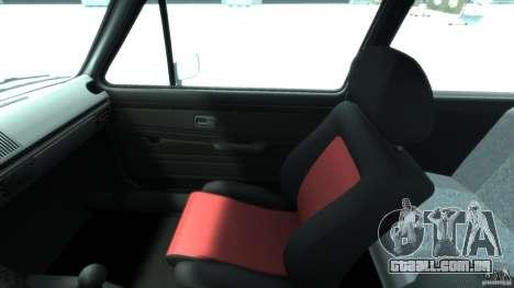 Volkswagen Golf Mk1 para GTA 4 vista de volta