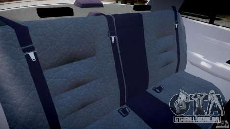 Ford Crown Victoria New Jersey State Police para GTA 4 vista interior