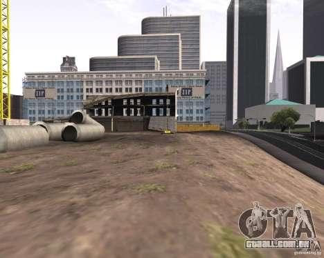 Uma coleção de mods de gráficos para GTA San Andreas por diante tela