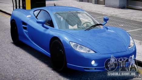 Ascari KZ-1 para GTA 4 vista superior