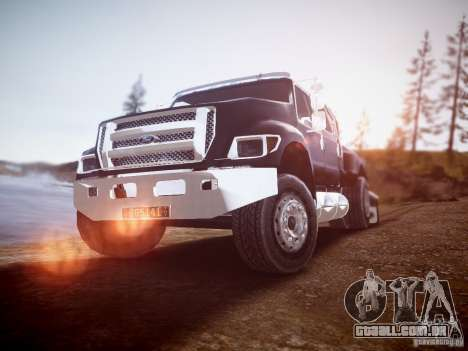 Ford F-650 Super Crewzer para GTA 4