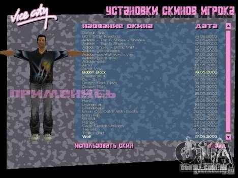 Pack de skins para o Tommy para GTA Vice City
