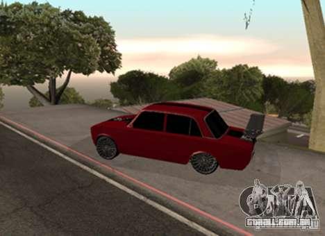 VAZ 2101 Drag para GTA San Andreas vista direita