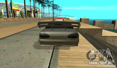 Elegy v1.1 para GTA San Andreas vista direita