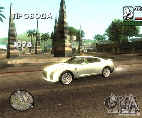 Discos em qualquer lugar para GTA San Andreas por diante tela