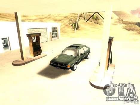 Volkswagen Scirocco Mk1 para GTA San Andreas vista direita