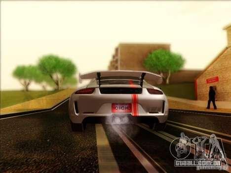 Porsche 911 Carrera S (991) Snowflake 2.0 para GTA San Andreas vista direita