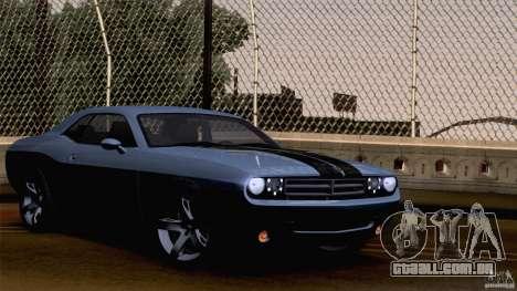 Dodge Challenger SRT8 para o motor de GTA San Andreas