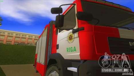 Homem TGL Riga FC para GTA San Andreas vista traseira