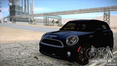 MINI Cooper Clubman JCW 2011 para GTA San Andreas