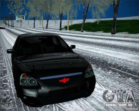Lada Priora Vip Style para GTA San Andreas vista direita