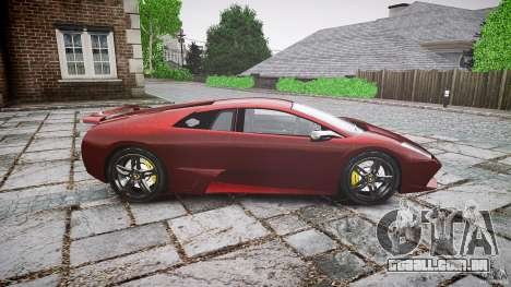 Lamborghini Murcielago v1.0b para GTA 4 esquerda vista
