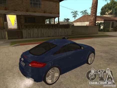 Audi TT RS 2010 para GTA San Andreas vista direita