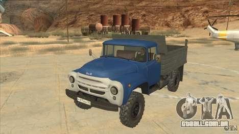 ZIL-MMZ 4502 movimentação de quatro rodas para GTA San Andreas