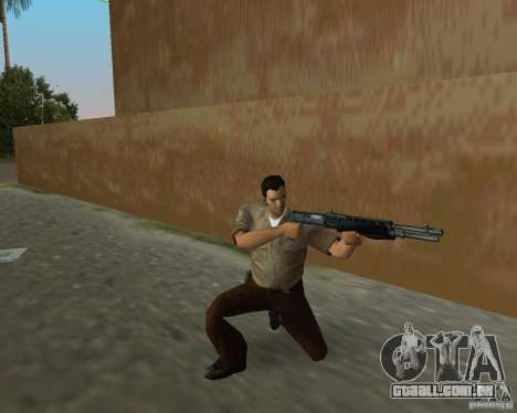 Armas de Pak de STALKER para GTA Vice City segunda tela
