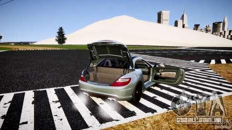 Mercedes-Benz SLK 2012 para GTA 4 interior