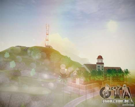 ENBSeries by ibilnaz v 2.0 para GTA San Andreas nono tela