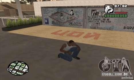 Parede Tsoi para GTA San Andreas terceira tela