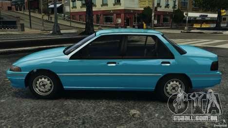 Mercury Tracer 1993 v1.1 para GTA 4 esquerda vista