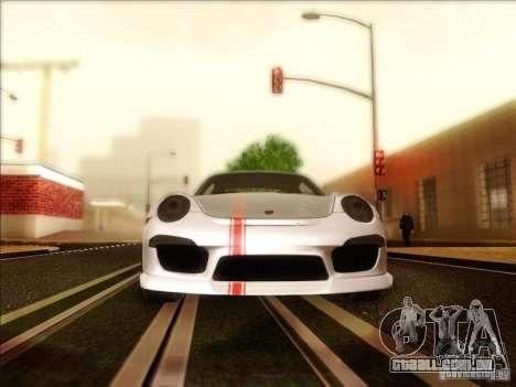 Porsche 911 Carrera S (991) Snowflake 2.0 para GTA San Andreas vista interior