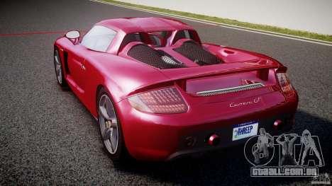 Porsche Carrera GT [EPM] para GTA 4 traseira esquerda vista