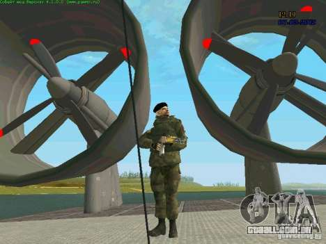 Marine RF para GTA San Andreas quinto tela