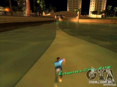 Nadando com a nova animação para GTA Vice City segunda tela