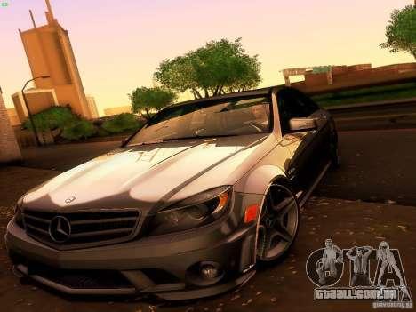 Mercedes-Benz C36 AMG para GTA San Andreas vista superior