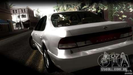 Nissan Cefiro A32 Kouki para GTA San Andreas vista inferior