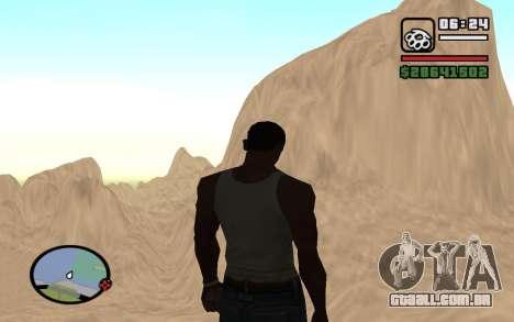 Mountain map para GTA San Andreas terceira tela