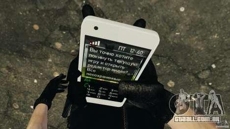 Samsung Galaxy S2 para GTA 4 sexto tela