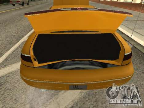 Lincoln Mark VIII 1996 para GTA San Andreas vista traseira