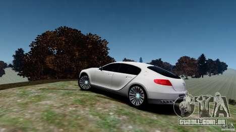Bugatti Galibier 2009 para GTA 4 esquerda vista