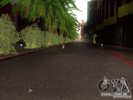 Modification Of The Road para GTA San Andreas sétima tela