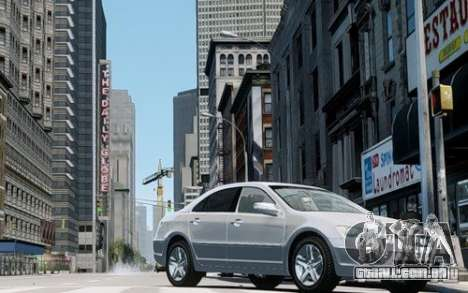 Acura RL 2006 para GTA 4 esquerda vista