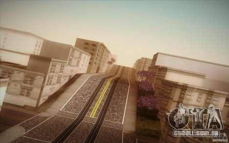 New roads San Fierro para GTA San Andreas sétima tela