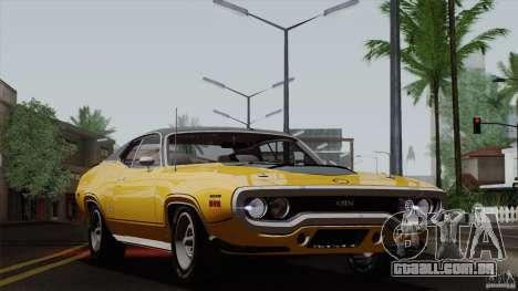 Plymouth GTX 426 HEMI 1971 para GTA San Andreas