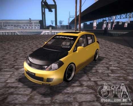 Nissan Versa Tuned para GTA San Andreas