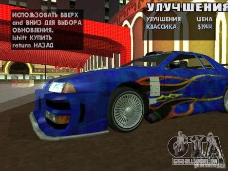SA HQ Wheels para GTA San Andreas oitavo tela