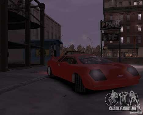 Infernus - Vice City para GTA 4 esquerda vista